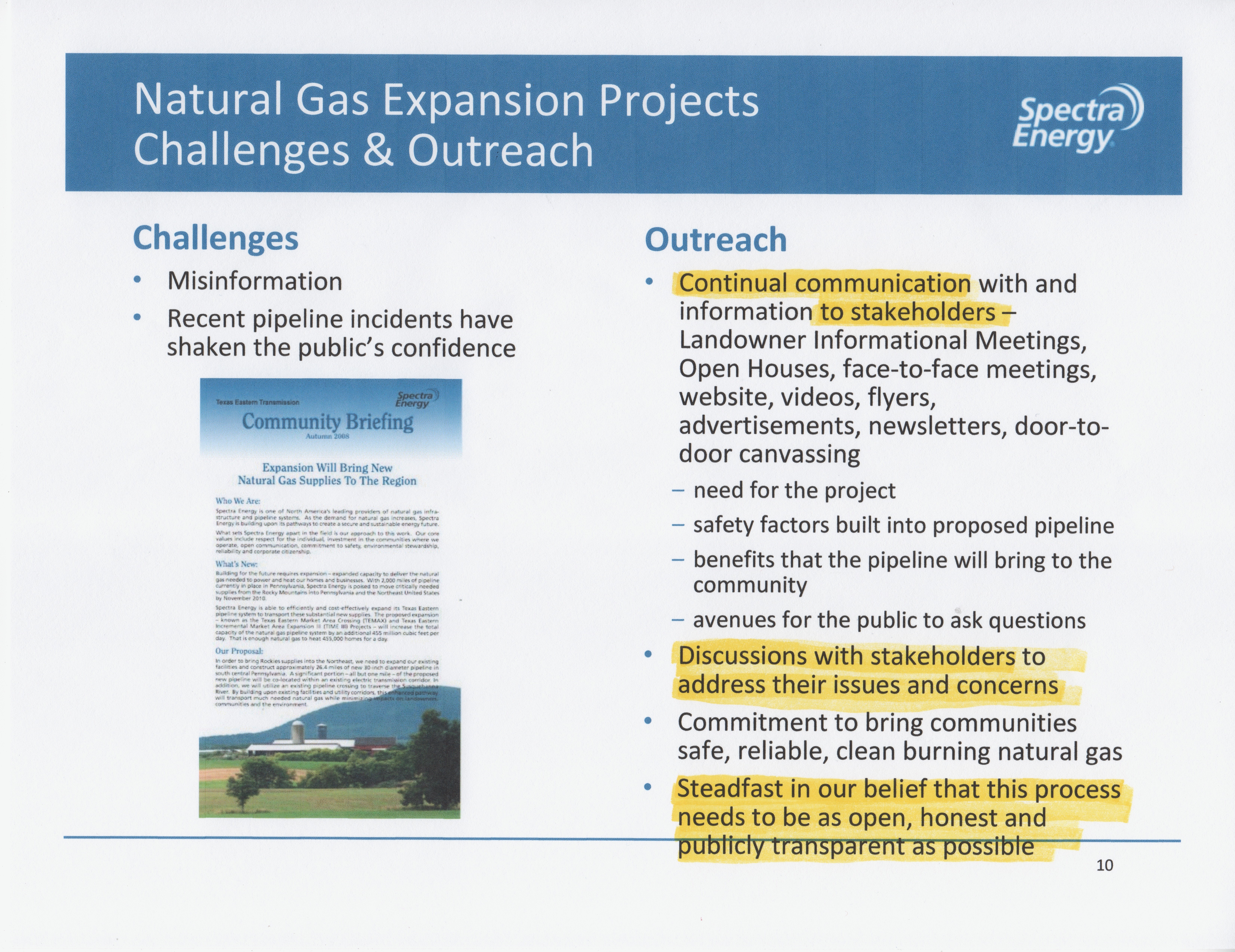 Shale Property Rights » Blog Archive » Spectra Energy Betrayal